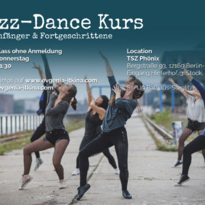 Jazz Dance Kurs Steglitz